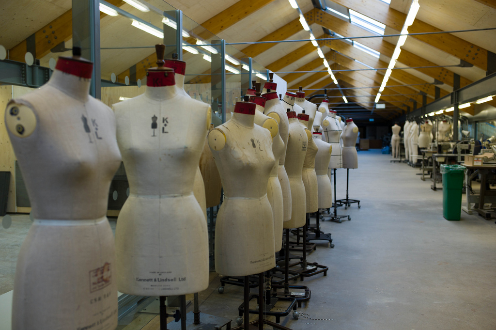 Mannequins at Central Saint Martins College of Art and Design